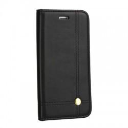 """Knižkové puzdro Prestige na iPhone XR (6.1"""") čierne."""