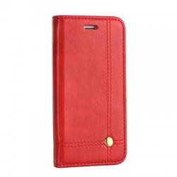"""Knižkové puzdro Prestige pre iPhone XS Max (5.8"""") červené."""