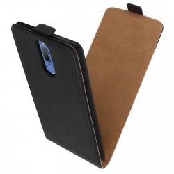 Flipové puzdro Vertical Flexi Slim pre Huawei Mate 10 Lite čierne.