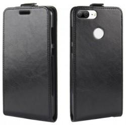 Flipové puzdro Vertical Flexi Slim pre Huawei Honor Lite čierne.