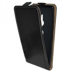 Flipové puzdro Vertical Flexi Slim pre Sony Xperia XZ2 čierne .