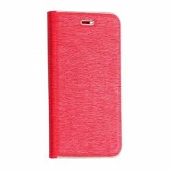 Knižkové puzdro Vennus s rámom pre Huawei Y9 2018 červené.