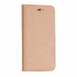 Knižkové puzdro Vennus s rámom pre Samsung G960 Galaxy S9 zlaté.