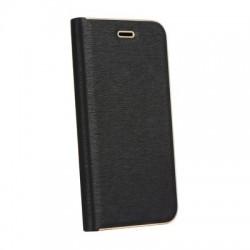 Knižkové puzdro Vennus s rámom pre Samsung Galaxy A8 2018 Plus čierne.