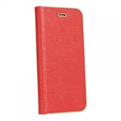 Knižkové puzdro Vennus s rámom pre Samsung Galaxy A8 2018 Plus červené.