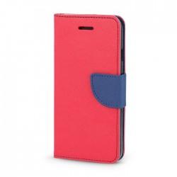 Knižkové puzdro Fancy pre LG K11 (K10 2018) červeno-modré.