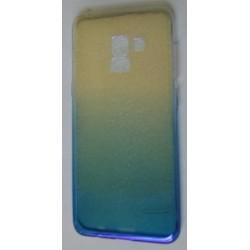 Kryt TPU Ombre pre Samsung A530 Galay A5/A8 (2018) modrý.