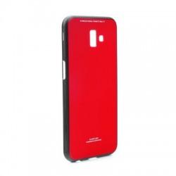 Kryt Glass pre Samsung J610F Galaxy J6 Plus (2018) červený.