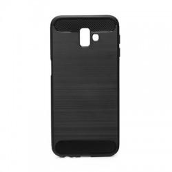 Kryt Carbon pre Samsung J610F Galaxy J6 Plus (2018) čierny.
