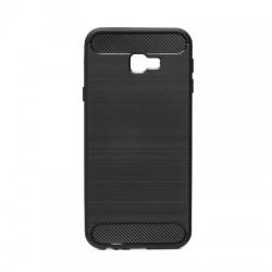 Kryt Carbon pre Samsung J415F Galay J4 Plus (2018) čierny.