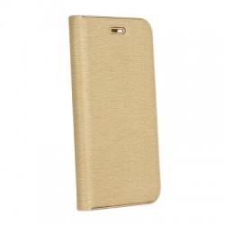 Puzdro Luna pre Samsung A750F Galaxy A7 (2018) zlaté.