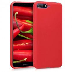 Kryt Soft Magnet pre Huawei Y6 2018 červený.