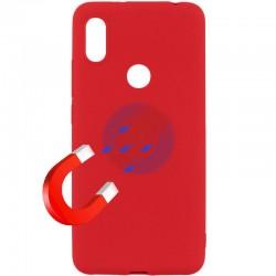 Kryt Soft Magnet pre Xiaomi Redmi 6 Pro červený.