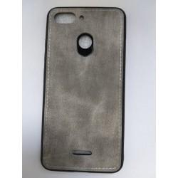Kryt Denim pre Xiaomi Redmi 6 sivý.