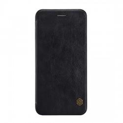 """Puzdro Nillkin Qin pre iPhone XS Max (6,5"""") čierne."""