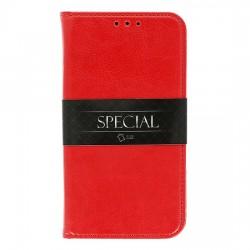 Puzdro Special pre Samsung J377 Galaxy J3 2018 červené.