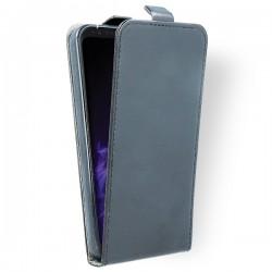Puzdro kapsa s vertikálnym zapínaním Pocket/Flexi slim pre Microsoft Lumia 950 grafitové