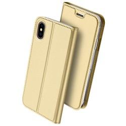 Puzdro Dux Ducis Skin pre iPhone XS Max zlaté.