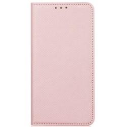 Puzdro Smart pre Samsung A50 Galaxy A505F ružovozlaté.