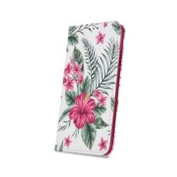 Puzdro Trendy pre Lenovo Moto G7 Play vzor exotické kvetiny.
