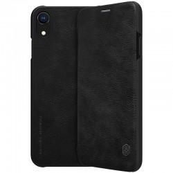 Puzdro Nillkin Qin pre iPhone XR čierne.