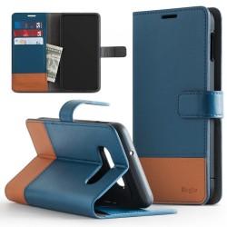Puzdro Ringke Wallet pre Samsung G970F Galaxy S10e modré.