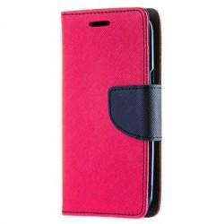 Puzdro Fancy pre Sony Xperia XA2 Plus ružovo-modré.