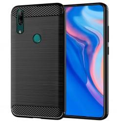 Kryt Carbon pre Huawei Y9 Prime 2019 čierny.