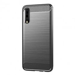 Kryt Carbon pre Samsung A705 Galaxy A70 čierny.
