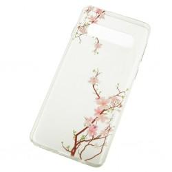Kryt Floral pre Samsung Galaxy S10e Cherry.
