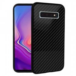 Kryt Carbon Glass pre Samsung Galaxy S10e čierny.
