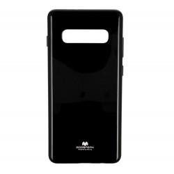 Kryt Mercury i-Jelly pre Samsung G973 Galaxy S10 čierny.