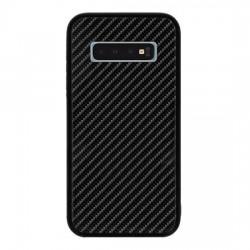 Kryt Carbon Glass pre Samsung G973 Galaxy S10 čierny.