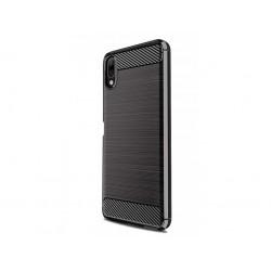 Kryt Carbon pre Sony Xperia L3 čierny.