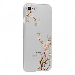 Kryt Floral pre Samsung A202 Galaxy A20e Cherry.