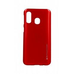 Kryt Mercury i-Jelly pre Samsung A405 Galaxy A40 červený.