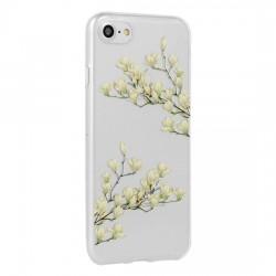 Kryt Floral pre Samsung A405 Galaxy A40 Magnolia.