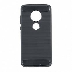 Kryt Carbon pre Lenovo Moto G7/G7 Plus čierny.