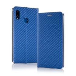 Puzdro Carbon pre Samsung A202F Galaxy A20e modré.