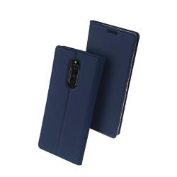 Puzdro DUX DUCIS Skin Pro pre Sony Xperia modré.
