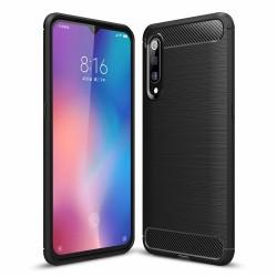 Kryt Carbon pre Xiaomi Mi 9SE čierny.