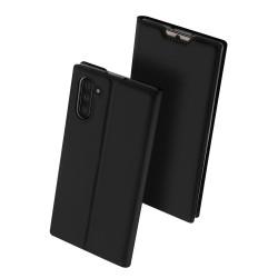 Puzdro DUX DUCIS Skin Pro pre Samsung Note 10 čierne.