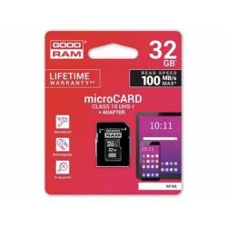 Pamäťová karta Goodram Micro SDHC 32GB UHS-I s adaptérom. 10.