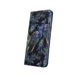 Puzdro Trendy Peacock pre Samsung Galaxy A10 vzor pávy.