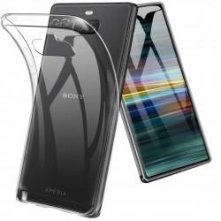 Kryt tenký 0,5mm pre Sony Xperia XA3 priehľadný.