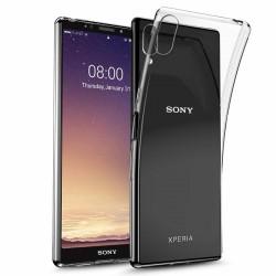 Kryt tenký 0,5mm pre Sony Xperia L3 priehľadný.