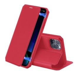 Puzdro Dux Ducis Skin X pre iPhone 11 Pro červené.