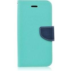 Puzdro Fancy pre Huawei P20 Lite 2019 mätovo-modré.