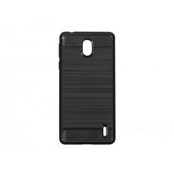 Kryt Carbon pre Nokia 1 Plus čierny.