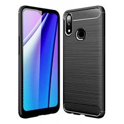Kryt Carbon pre Samsung A107 Galaxy A10s čierny.